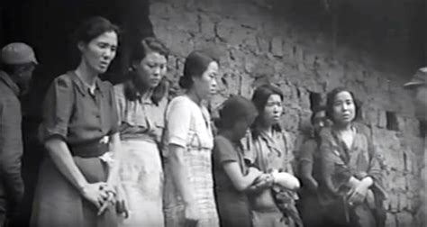 wartime comfort women first ever footage reveals wwii japan s system of sex slavery