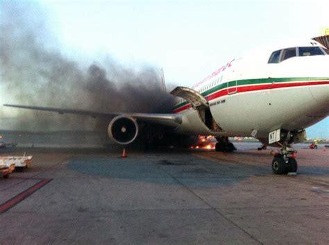 un avion de la royal air maroc 233 vacu 233 d urgence 224 l a 233 roport de montr 233 al