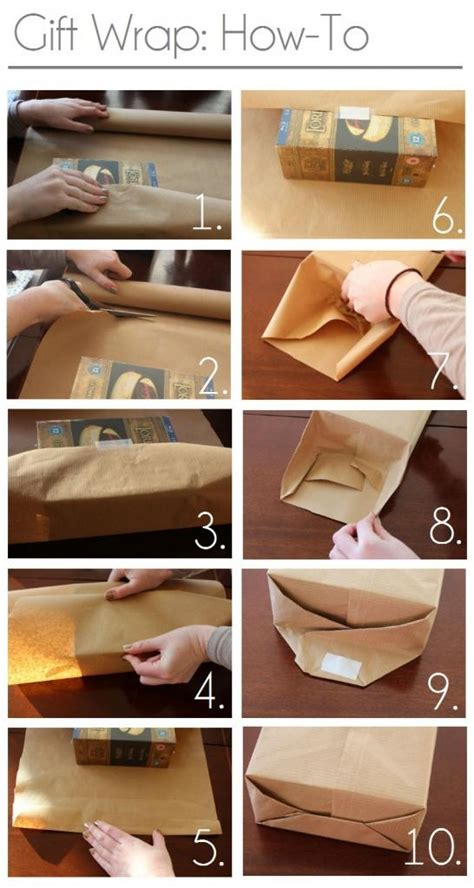 how to wrap a present gift wrap how to christmas pinterest