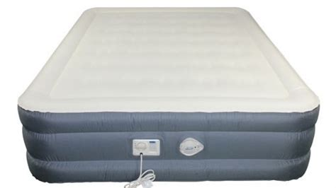 queen size inflatable bed aerobed matress opticomfort queen size inflatable