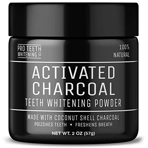 pro teeth whitening  activated charcoal powder review