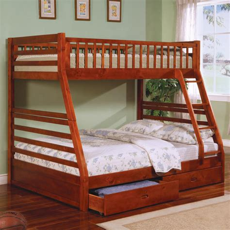 bunk bed queen and twin twin over queen bunk bed plans bed plans diy blueprints