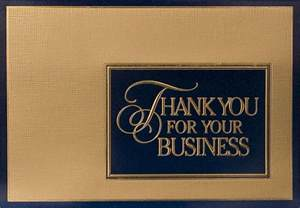 thank you for your business cards thank you cards business corporate thank you cards