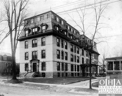 Crouse Irving Hospital Detox by Today In History Crouse Irving Hospital Building Opened