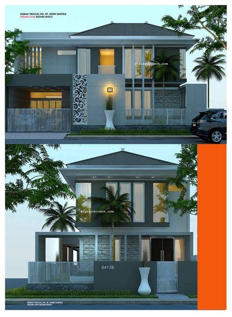desain rumah minimalis  lantai kavling hook house design pinterest house architecture