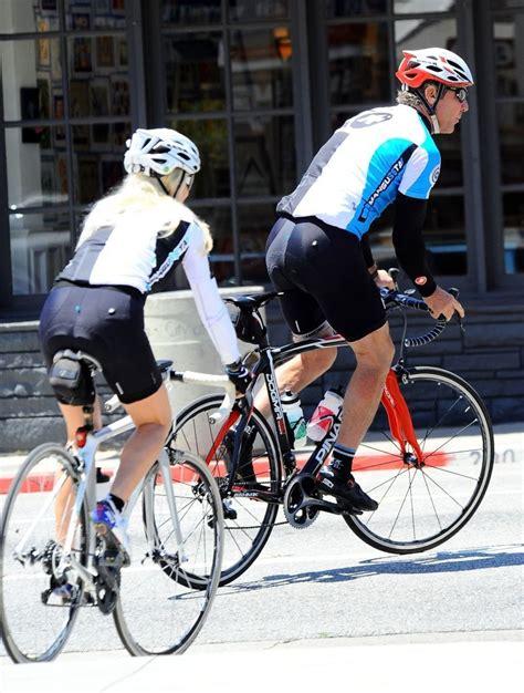 dennis quaid bike movie kimberly quaid photos dennis quaid kimberly go for a