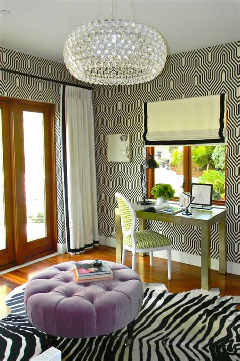 fresh home interiors decorating with animal print