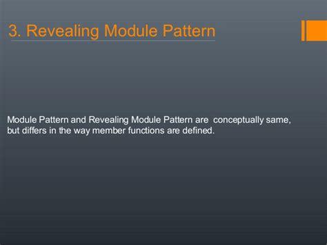 revealing module pattern node js javascript design patterns
