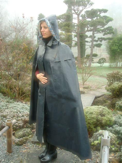 Jo In Raincoat S Intl grey klepper rubber cape helmut klepper