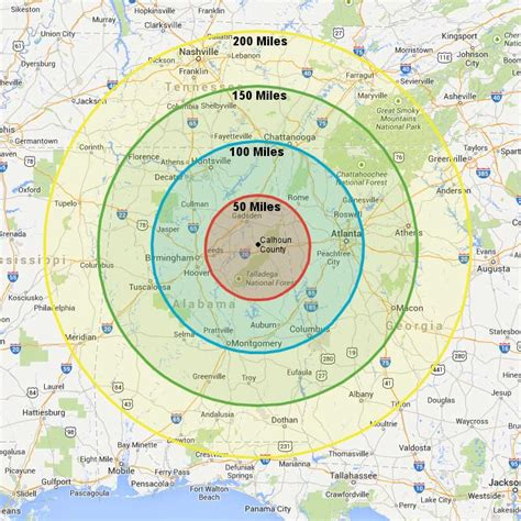 map radius radius map my