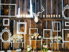 wedding in a barn inspired by this