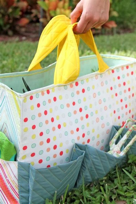 sewing pattern garden tool bag stitch these handy accessories for gardeners