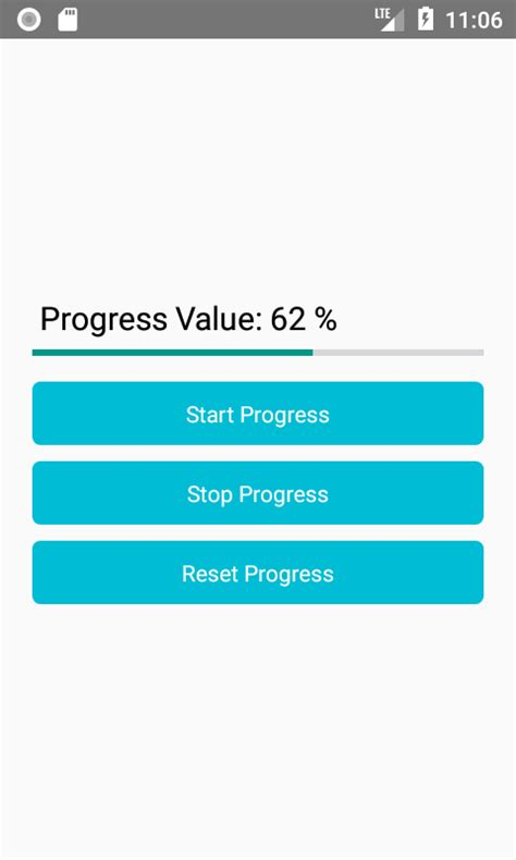 android progress bar react horizontal progressbar android ios exle tutorial