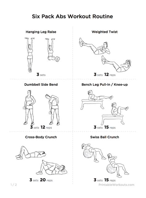Bench Jackknife Crunches Download Pdf Customize Workout