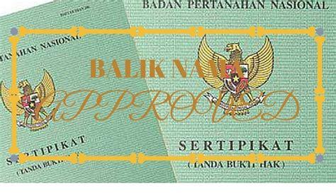 Rumus Jual Beli Tanah proses balik nama sertifikat karena pewarisan