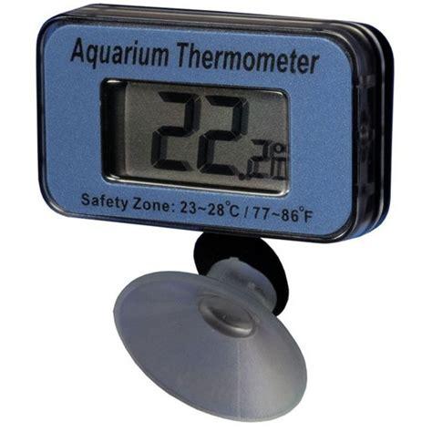 digital aquarium thermometer waterproof digital pond thermometers