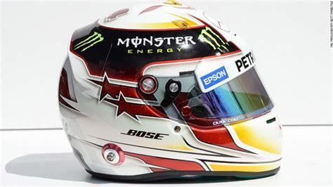 helm usa design lewis hamilton s 1000 custom helmets