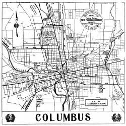 map columbus map of downtown columbus ohio aphisvirtualmeet