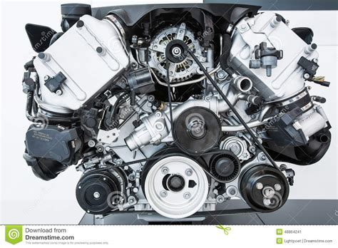 automotive motor car engine modern powerful car engine stock photo image 48864241