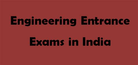 Mba Programs For Engineers In India by Entrance Exams In India 2015 For Mba Engineering