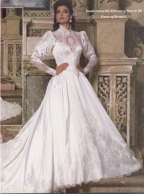 Feb Mar 1986 Brides magazine   wedding dress in 2019
