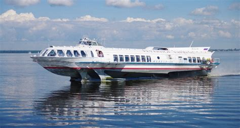 hydrofoil boat meteor hydrofoil to peterhof st petersburg card