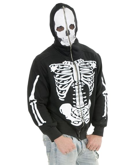 Hoodie Zipper Nirvana Jasun Clothing image gallery skeleton hoodie