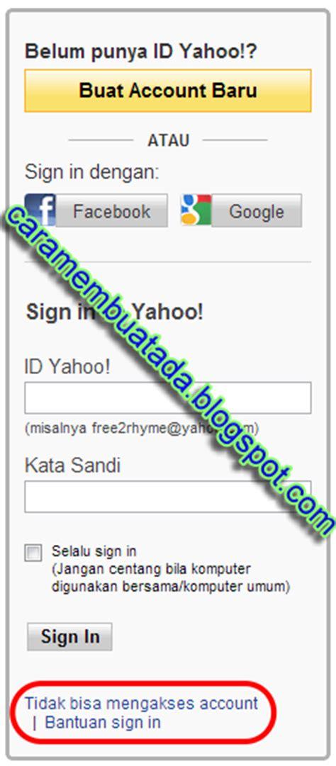email yahoo lupa sandi lupa password yahoo kata sandi yahoo mail terbaru