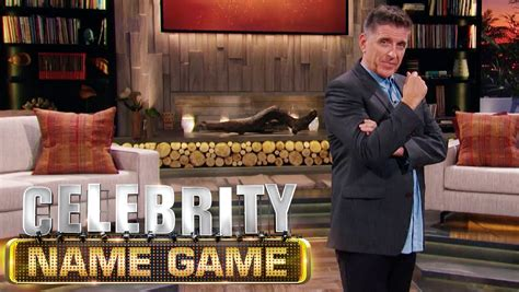celebrity game shows on tv celebrity name game cancelled no season four for craig