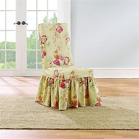 sure fit waverly ballad bouquet sofa slipcover sure fit 174 ballad bouquet by waverly dining room chair