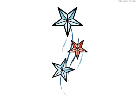 free star tattoo stencils clipart best
