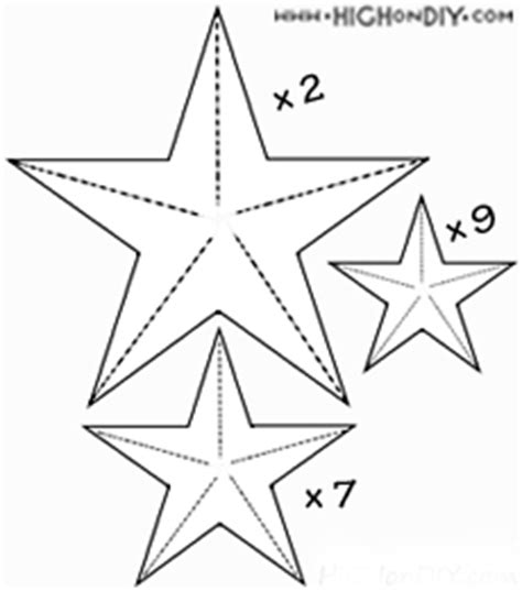 printable medium star template clipart of meduim stars to print
