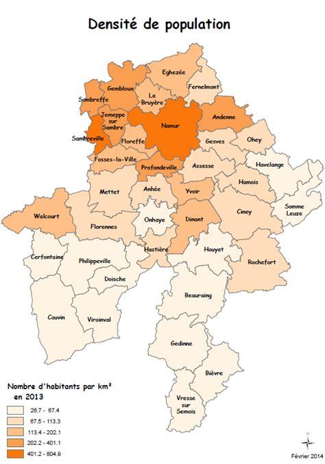 carte province namur page