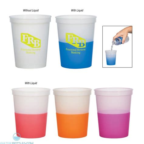 color changing cup color changing stadium cup 16 oz misc promotional