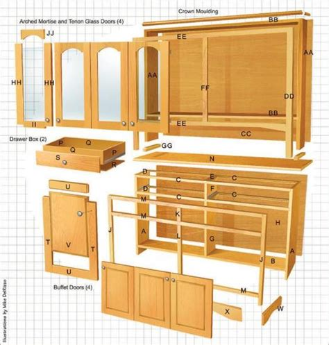 buffet hutch plans 85 dining room hutch plans furnitures dining room