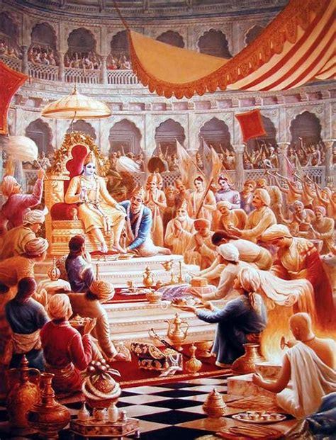 Bhuta Yajna By Hare Krishna the rajasuya yagna krsna my sweet lord