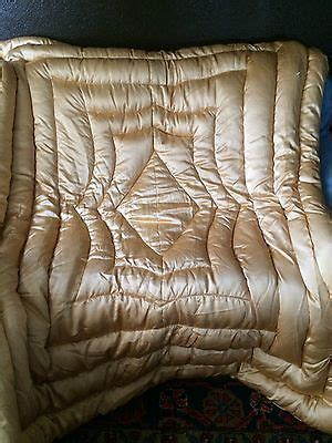 satin throws bedroom vintage satin peach hollywood glam goose down full