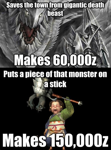 monster hunter memes monster hunter pinterest