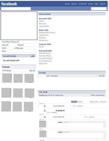 html templates for facebook pages facebook page template cyberuse