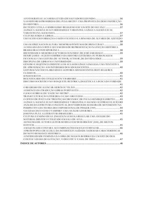 Cadernos da semana de letras 2010 volume i resumos