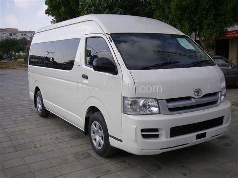 Toyota Hiace Grand Cabin 2008 for sale in Karachi   PakWheels