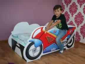 lit enfant b 201 b 201 140x70 avec matelas neuf moto lits enfants