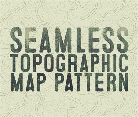 seamless pattern techniques how to create a seamless topographic map pattern