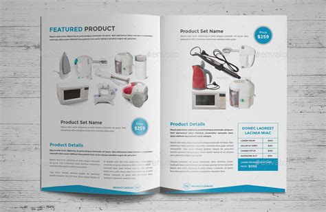 product promotion catalog indesign template by jbn comilla