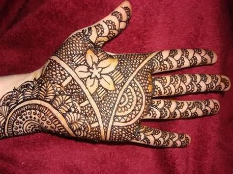 black henna tattoo for left hand inofashionstyle com henna images designs