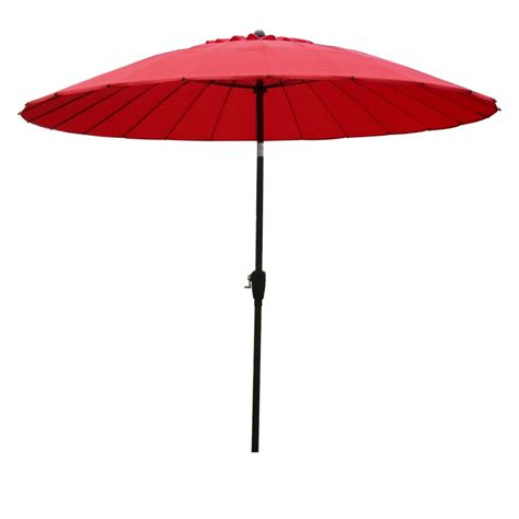 asian patio umbrella mimosa market umbrella 2 5m bunnings warehouse