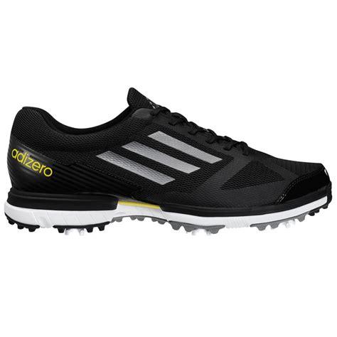 adidas adizero sport golf shoes mens black silver