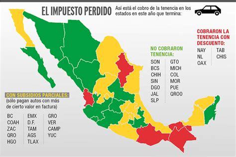hola las motonetas pagan tenencia en el estado de mexico 2016 quitar la tenencia es una medida de populismo econ 243 mico ciep