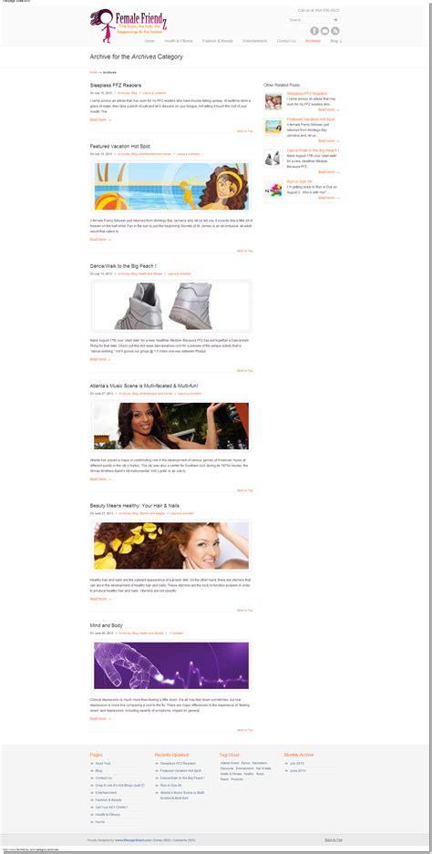wordpress archive layout responsive wordpress web design idesignsmart atlanta