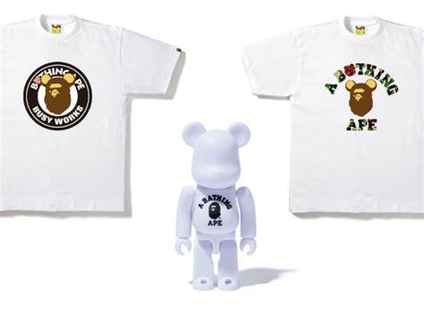 Bape X Bearbrick Fulltag Hangtag bape x bearbrick t shirt collection highsnobiety